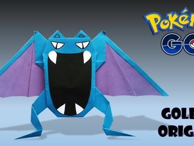 Golbat Origami Pokemon-origami golbat-how to make origami golbat-diy origami pokemon.