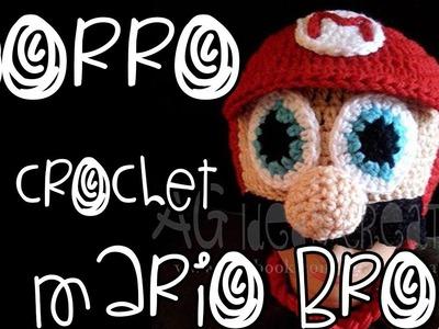 Gorro Tejido Mario Bross. Crochet Hat Mario Bross