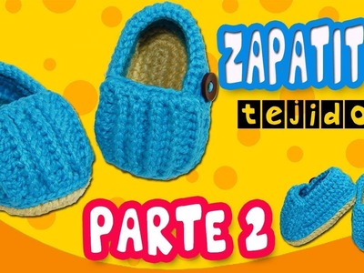 Mocasines relieve Tejidos a crochet | parte 2.2
