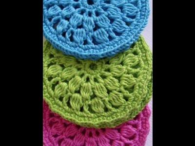 Posavasos tejidos en crochet