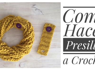 Presilla con Ojal a Crochet