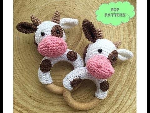 Sonajeros de crochet para bebés o baby rattle
