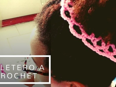 "Tutorial ""Coletero a Crochet"" Fácil"