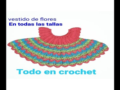 Vestido a crochet parte #1