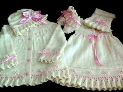 Vestido Tejido A Crochet o Ganchillo