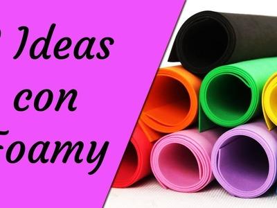 3 Ideas para Regreso a Clases con Foamy - Ecobrisa