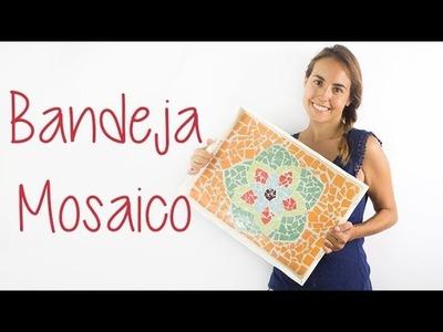 Bandeja mosaico de azulejos DIY - Hazlo tú mismo