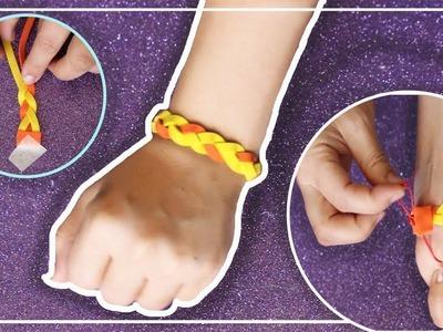 Como hacer pulsera de goma eva Paso a Paso | DIY Bracciale con gomma crepla