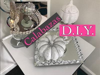 D.I.Y Como decorar tus calabazas súper fácil.LA CRUZ TV