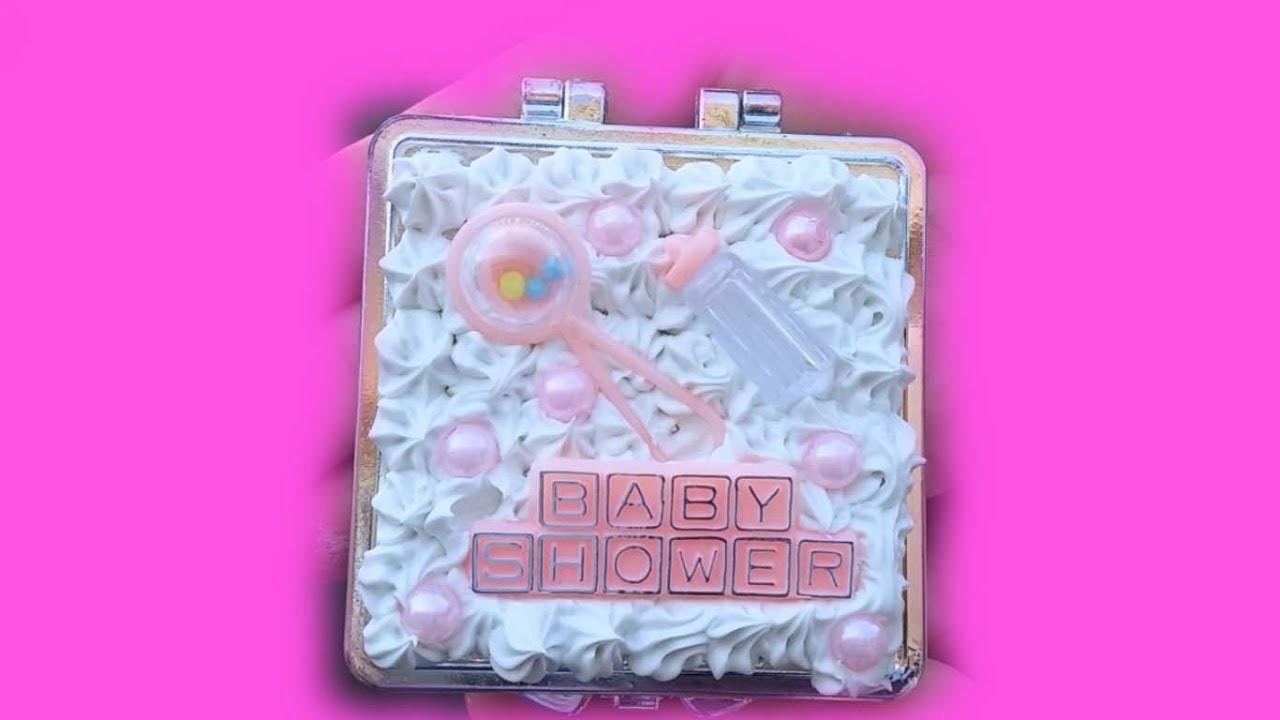 DIY Baby Shower ???? Recuerdos.Tecnica Decoden Facil y Economicos De Hacer