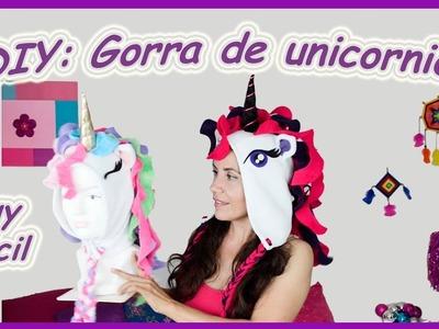 DIY: Gorra de unicornio. Unicorn hat  ❤❤❤