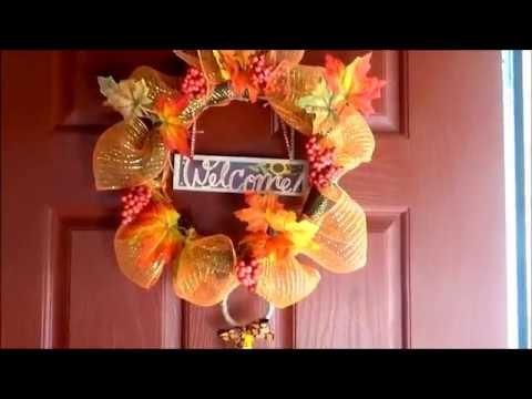 DIY  - Idea de decoracion para otoño [DIY Fall Decor] Maria Gonzalez