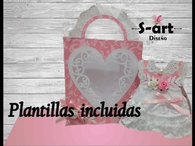 DIY Invitación vestido + platillas gratis ♥