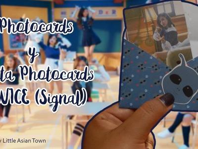 [ DIY K-POP ]: Haz tus propias photocards de TWICE☆Photocards☆Porta Photocards☆TWICE DIY☆