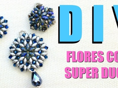 DIY! TRES FLORES CON SUPER DUOS! CLASE DE JOYERÍA! PAOLA HERRERA
