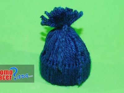 Gorritos de lana para Souvenir - Manualidades Fáciles