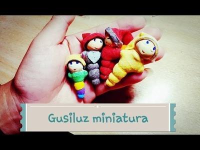 Gusiluz en miniatura ! polymer clay