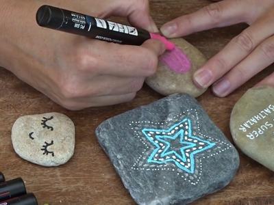 Manualidades para niños - Pintar piedras - Mifabula