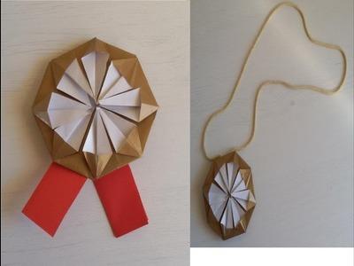 Origami Medal - Medalla de Papel