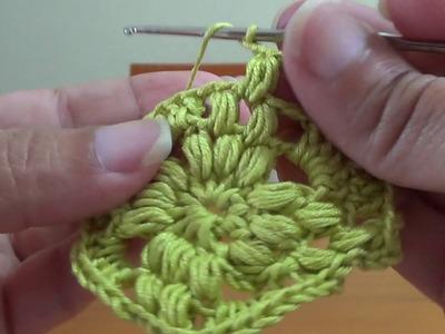 Paso a paso parte 2 cuadrito estola a crochet, ganchillo fácil