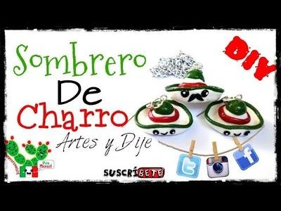Sombrero de Charro Arcilla Polimerica | Plastilina | Fimo | Polymer Clay | Porcelana fria