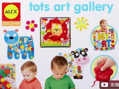Tots Art Gallery, maletín de manualidades para bebés - Una Mamá Novata