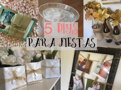 5 DECORACIÓNES PARA FIESTA   DIY   Yasmin Varela