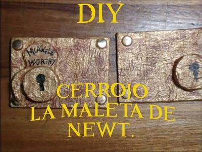 Animales fantásticos DIY Cerrojo de la maleta de Newt