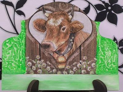 Como Hacer porta Llaves de Vaca- HogarTv por Juan Gonzalo Angel