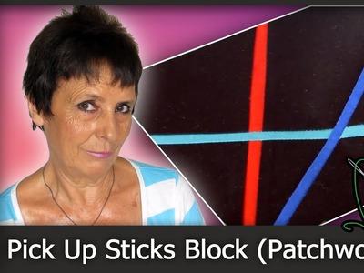 Cómo hacer un Pick Up Sticks Block (Patchwork) [Tutorial]