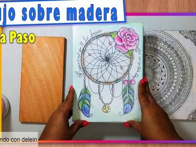 Como Preparar la Madera para usarla como base para nuestros dibujos