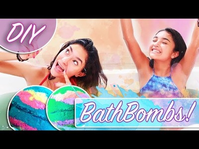 DIY BATH BOMBS! PROBAMOS Y SI NOS SALIERON!| Xime Ponch V174