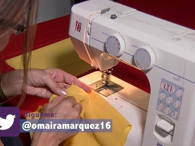 DIY Blusa Fácil en Velo con Mangas  Easy Blouse with Sleeves- Omaira tv