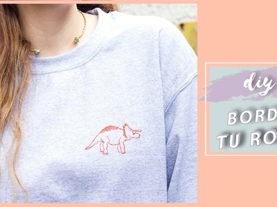 DIY ¿Cómo bordar tu ropa?  | Carolina Llano