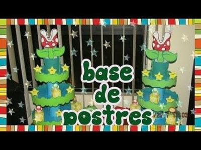 DIY COMO HACER UNA BASE PARA CUPCAKE DE MARIO BROS. SEVENDAY