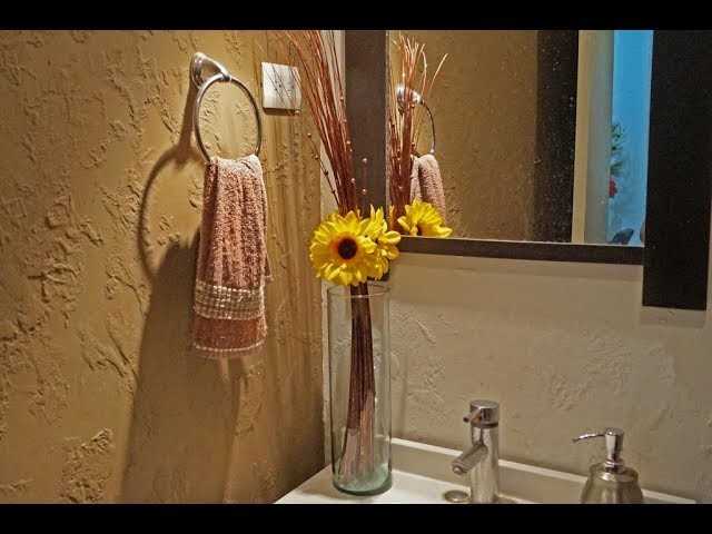 DIY creativo adorno floral para el Otoño