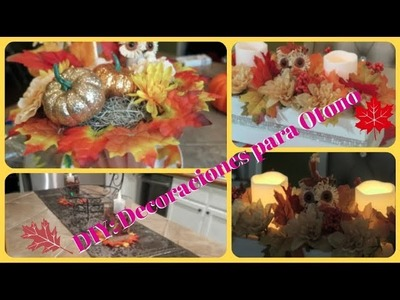 DIY: DECORACIONES PARA OTONO ???? (DIY: FALL DECOR)