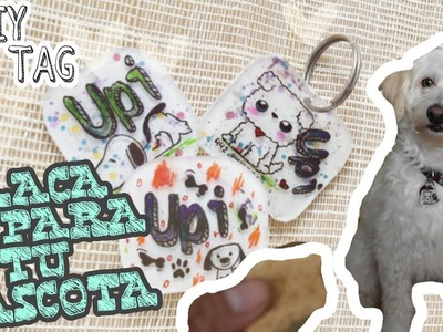 DIY DOG TAG.PLACA ID PARA TU MASCOTA CON PLÁSTICO ENCOGIBLE!!