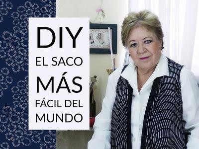 DIY - EL SACO MAS FÁCIL DEL MUNDO. THE WORLD'S EASIEST JACKET
