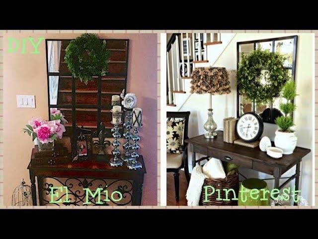 DIY || Espejo inspirado en  la pagina de Pinterest.
