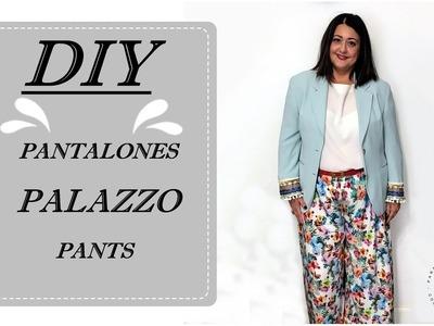 Diy los pantalones palazzo más fáciles del mundo