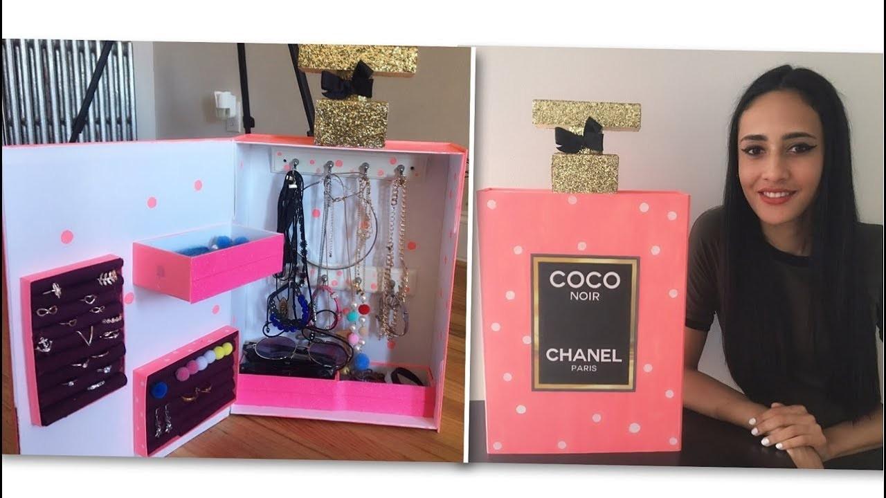 DIY Organizador en Forma de Loción Chanel (English Subs)