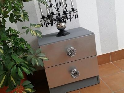 DIY. TRANSFORMAR MESITA DE NOCHE EN 1 HORA