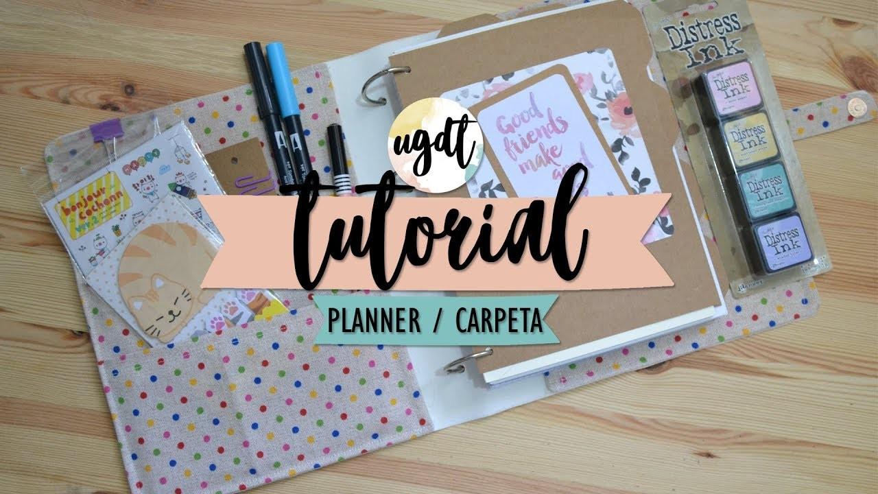 Haz tu propio planner. carpeta - Tutorial vuelta a clase - UGDT