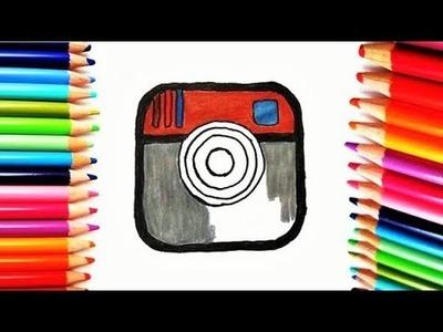 INSTAGRAM - Como Dibujar Logo INSTAGRAM - Dibujos Fáciles - draw Logo Instagram
