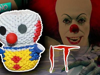 Pennywise (IT) 3D Origami | Pekeño ♥