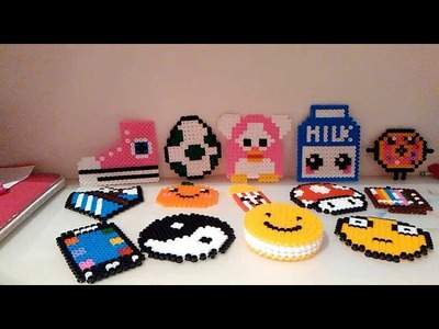 ¿Qué son las hama beads?Mi colección de hama beads!!! ❤