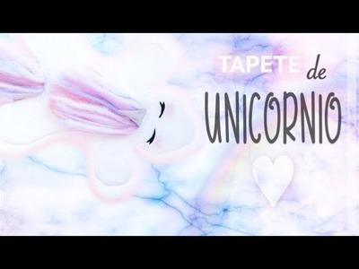 Tapete de UNICORNIO kawaii ♡ DIY (Unicorn Rug)
