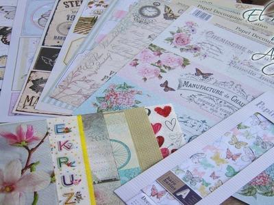 Tipos de papeles para decoupage - Decoupage con papel y servilletas - Conideade