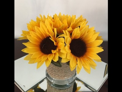 TjMax fall flower arrangement DIY